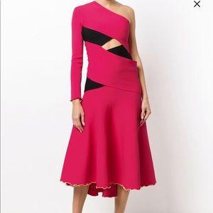 Proenza Schouler NWT Bandage One Shoulder Dress